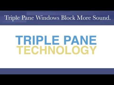 Replacement Windows Salem OH | 330-871-9978 | Triple Pane Sound Control