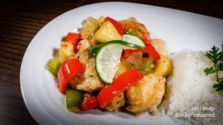 পইনআপল চকন  Bangladeshi Pineapple Chicken Recipe  Bangla Recipe