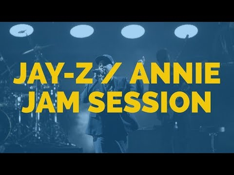 JAY Z ANNIE FREESTYLE JAM SESSION