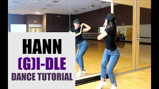 ()((G)I-DLE) - ()(HANN(Alone)) Lisa Rhee Dance Tutorial