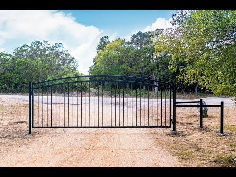 Building a 15' Metal Property Gate
