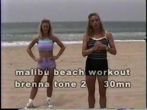 malibu beach workout-30 mn tone at the beach