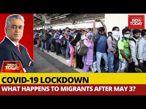 COVID-19 Crisis: What Happens To Migrants After May 3? | News Today With Rajdeep Sardesai