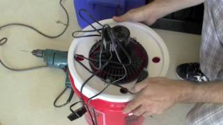 DIY Inexpensive Swamp cooler air-conditioner for your car or camping