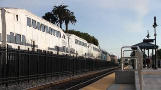 Metrolink Cabcar 630 with K5LA for the last time thru Orange, CA 2/23/11