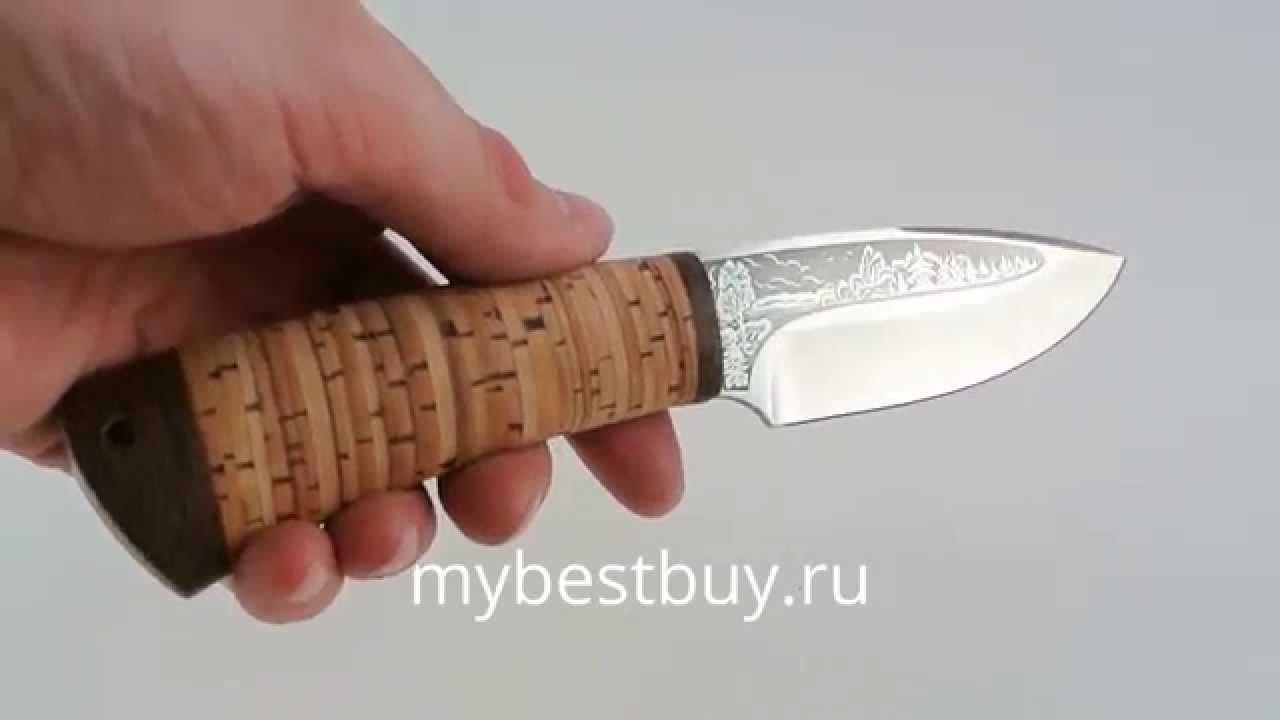 Рукоятка ножа из бересты