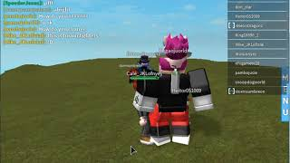 ROBLOX's first video:D Fusion