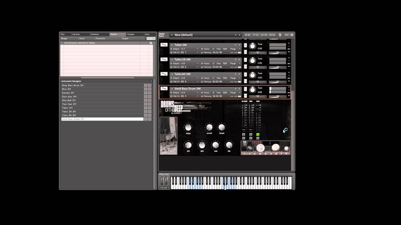 Showroom: sonivox tony coleman drums sample library | modern.