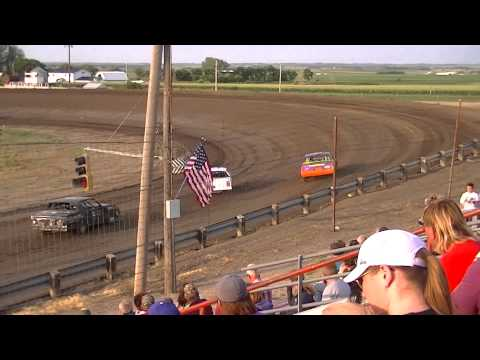 Wagner Speedway Hobby Stocks July 18th Heat Race