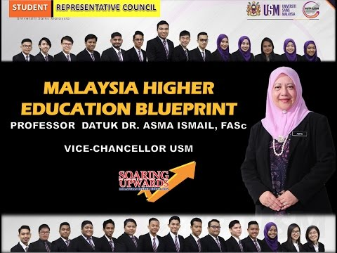 Malaysia Higher Education Blueprint Presented By Prof. Datuk Dr. Asma Ismail