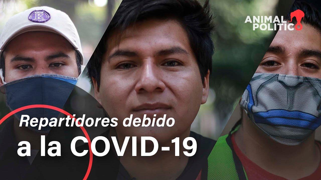'Me volví repartidor por la COVID': trabajar en apps y perder derechos laborales