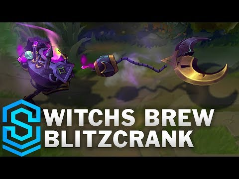 Witchs Brew Blitzcrank Skin Spotlight - Pre-Release - League of Legends