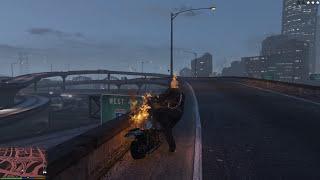 GTA 5 Mods #22 - Ghost Rider (Ma tốc độ) phiên bản lỗi