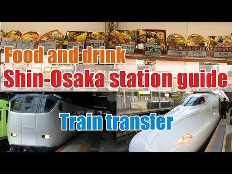Shin Osaka Station Guide How To Change Shinkansen Haruka