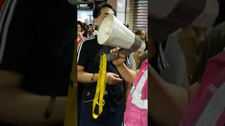 20180917,粉嶺火車站關閉,有職員講解原因