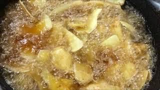 ジャガイモの皮でポテトチップ