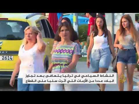 أنطاليا واحدة من أكثر مدن تركيا استقبالا للسياح  - نشر قبل 24 دقيقة