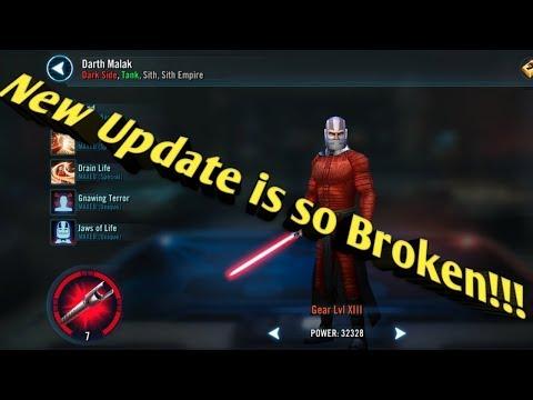 Warrior Upgrades Characters!! META IS DEAD...  Star Wars Galaxy Of Heroes  Swgoh