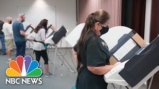 Arizona County Receiving About 100,000 Early Ballots Per Day | NBC News NOW