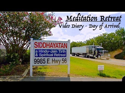 Meditation Retreat 2/5 - Arrival Day Video Diary