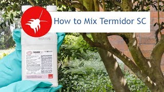 How to Mix Termidor SC