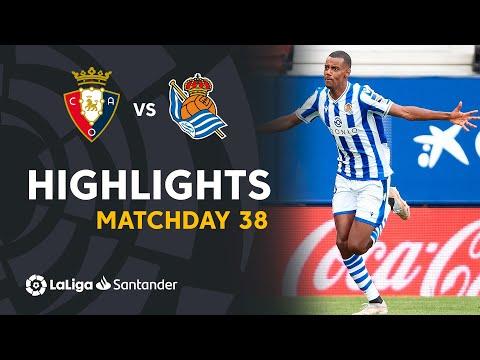 Osasuna Real Sociedad Goals And Highlights