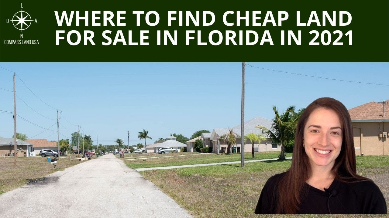 Where to Find Cheap Land for Sale in Florida in 2021