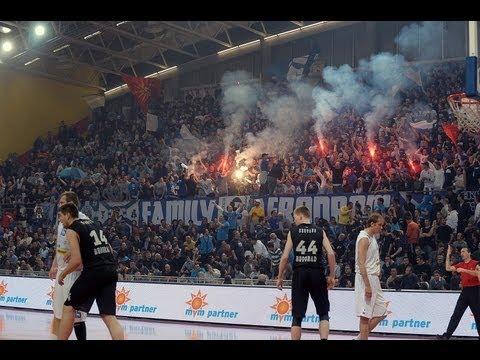 Atmosphere in Skopje, MZT Skopje - Partizan (16.03.2013)