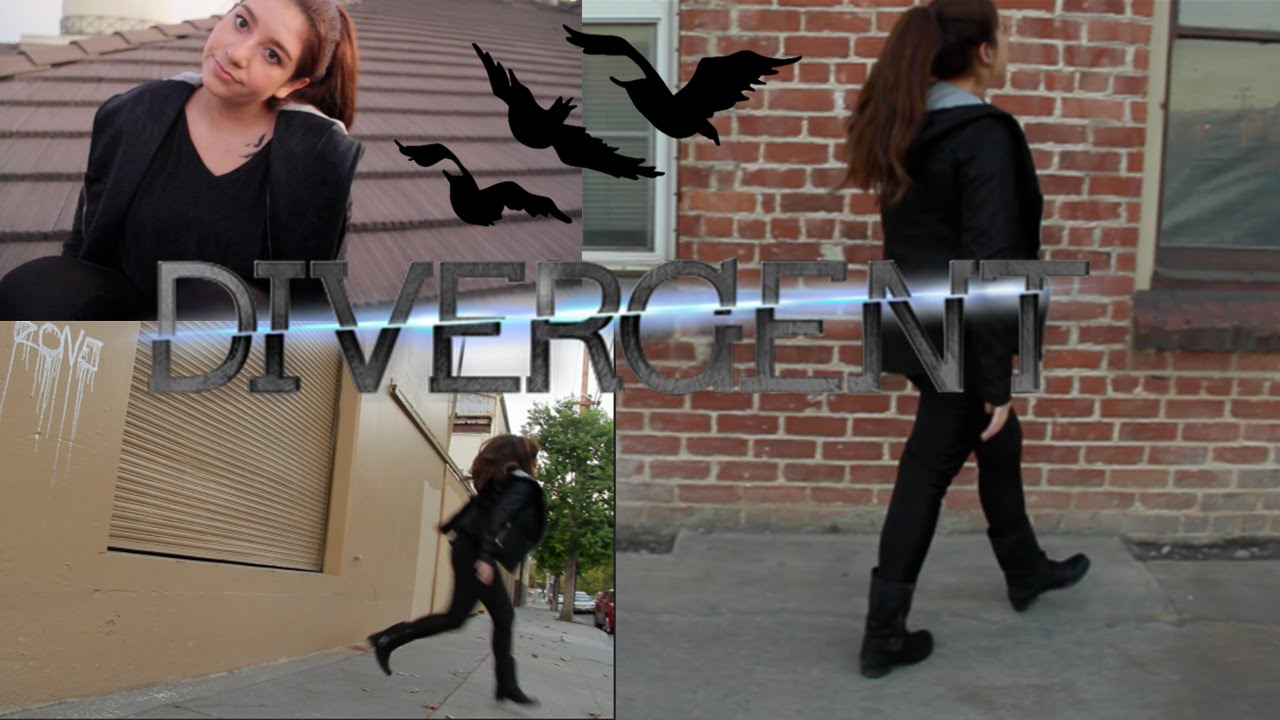 DIVERGENT  Tris Prior   Halloween Costume 2014 - YouTube