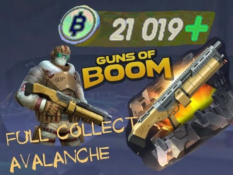 "GUNS OF BOOM - BATTLE CASES ( OPENING LEGENDARY WEAPON ""AVALANCHE"" 2/2)"