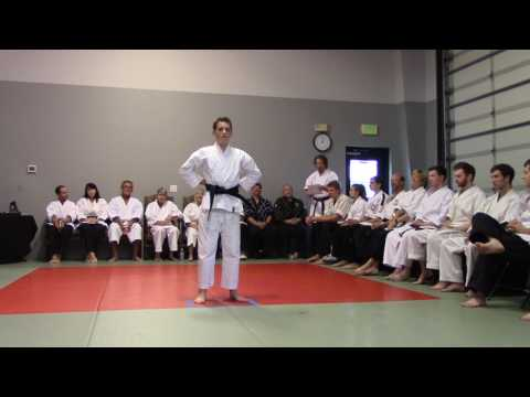 Matthew Black Belt Presentation
