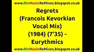 Regrets (Francois Kevorkian Vocal Mix) - Eurythmics | 80s Dance Music | 80s Club Mixes | 80s Club