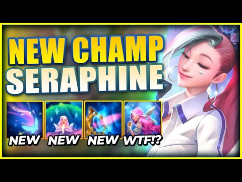 *NEW SUPPORT CHAMPION* SERAPHINE IS GOING TO COMPLETELY REPLACE SONA!? – League of Legends