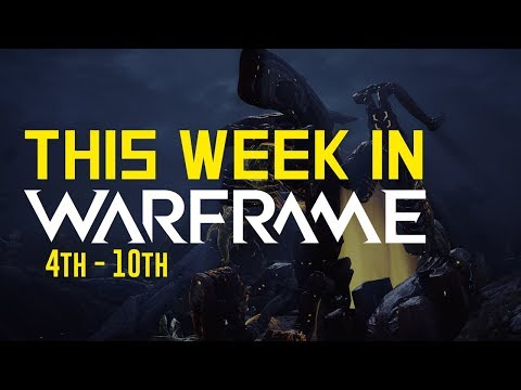 New Cosmetics, Vaulted Primes @ Baro, New Particles & More! [This Week In Warframe 4th - 10th]