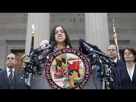"""""""Our Time is Now"""": Baltimore State's Attorney Mosby Charges Six Baltimore Cops in Freddie Gray Death"""