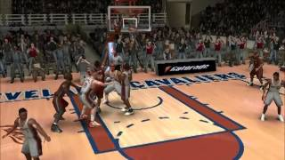 NBA Live 08 PC Gameplay: Cavs vs. Heat Q1