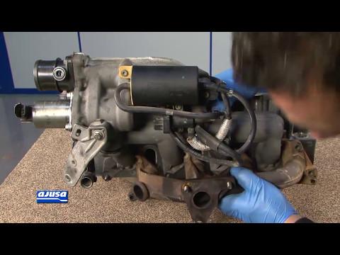 Intake and Exhaust Manifold Gasket / Colectores de Admisón y Escape Renault Laguna .