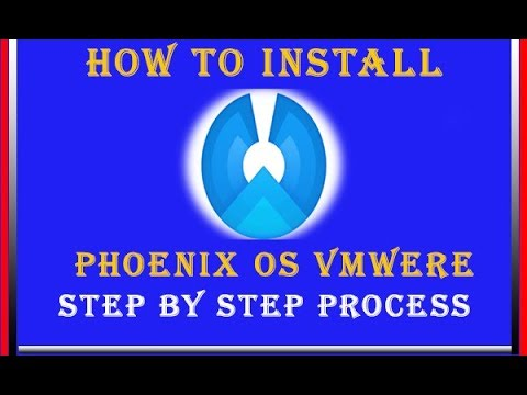 how-to-install-phoenix-os-in-vmware-  -install-phoenix-os-in-vmware-workstation