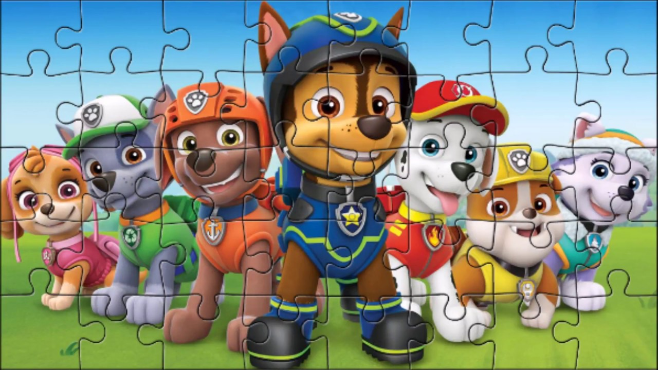all paw patrol characters puzzle  youtube