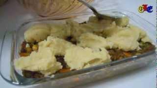 Irish Shepherd Pie صينية البطاطس الأيرلندية باللحم المفروم