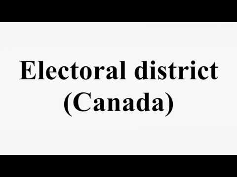 Electoral district (Canada)
