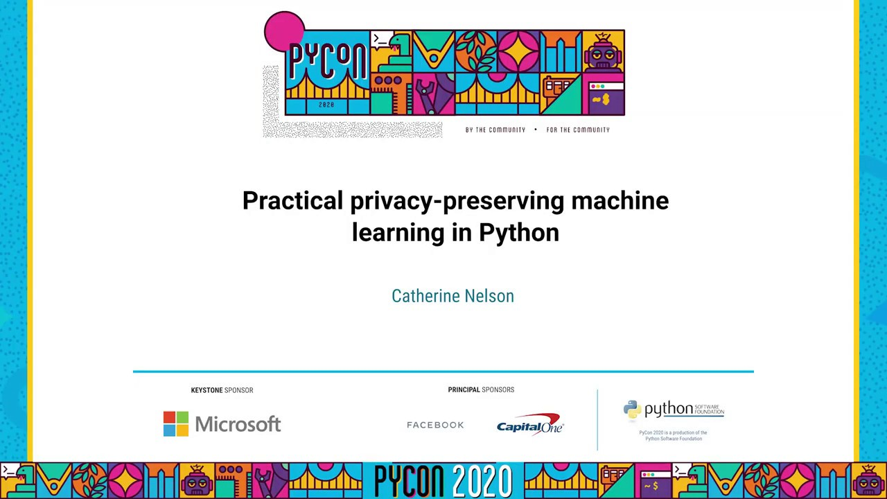 Image from Practical privacy-preserving machine learning in Python