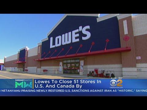 Lowe's Closing Stores In U.S., Canada