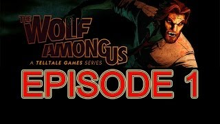 The Wolf Among Us walkthrough part 1 episode 1 no commentary Full Episode HD Gameplay let's play ps3