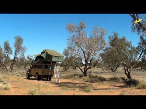 Gordigear - Handy Roof Tent Hints - Filmed in the Strzelecki Desert