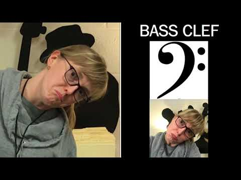 Music Minute - Treble Clef Bass Clef Game