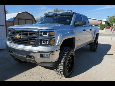2015 Lifted Silverado >> 2015 Chevrolet Silverado Z71 Lifted Youtube
