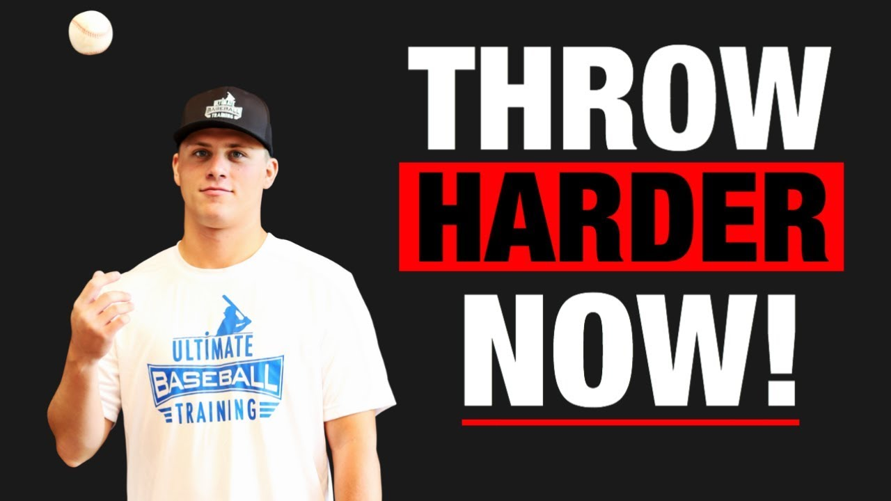 7 Exercises To THROW HARDER!! Increase Your Baseball Throwing Velocity