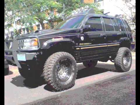 Jeep Grand Cherokee V8 Monster Truck Interceptor Youtube