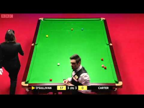 SNOOKER WORLD CHAMPIONSHIP 2012 FINAL , RONNIE O